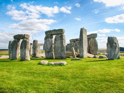 Stonehenge i Wiltshire, England platsar också på listan över de mest populära sevärdheterna 2018.