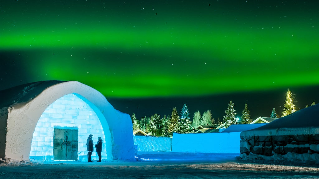 Den 15 december öppnar ishotellet i Jukkasjärvi för säsongen.