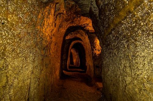 Tunnlarna i Ho Chi Minh är inget för den klaustrofobiske.