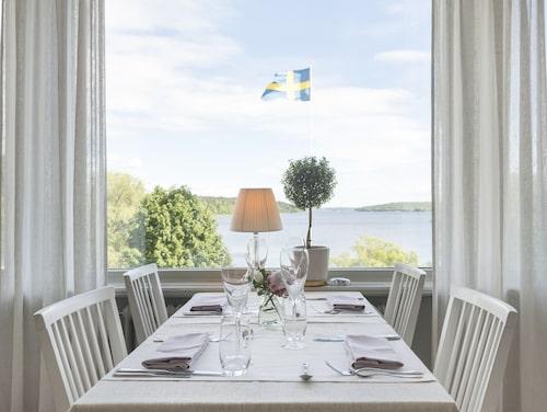 Utsikt i toppklass från Sigtuna Stadshotell.