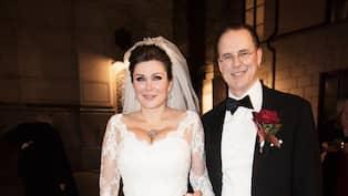 8ce1a35c9911 Dominika Peczynski och Anders Borg gifte sig i början av november i år.  Foto: OLLE SPORRONG