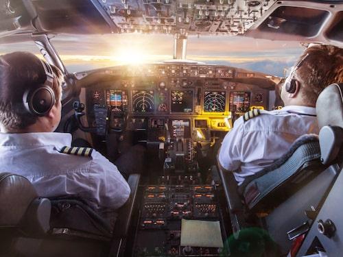 Kroppen utsätts för en del strålning när vi flyger.