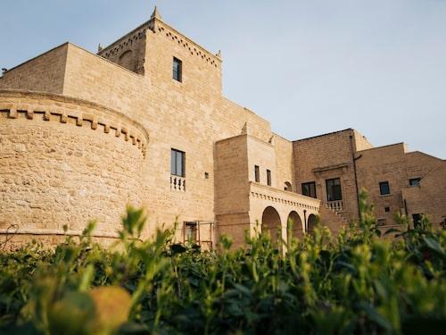 Lyxigt boende på Castello di Ugento.