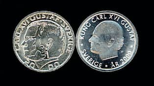 växla in mynt seb
