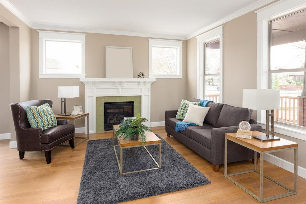 Vet du hur stor din matta ska vara för att skapa harmoni i hemmet?