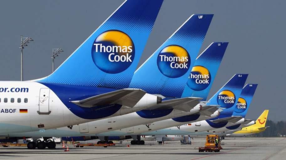 Thomas Cook har tolv fall på listan, samtliga gäller försenade eller inställda flyg.