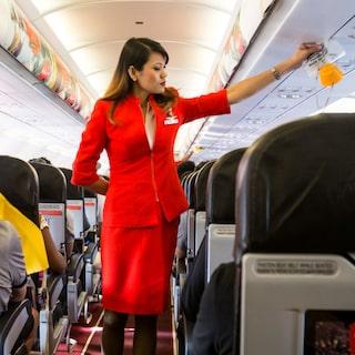 lock efter flygning