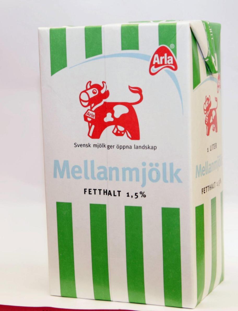 Mellanmjölken är rik på D-vitamin.