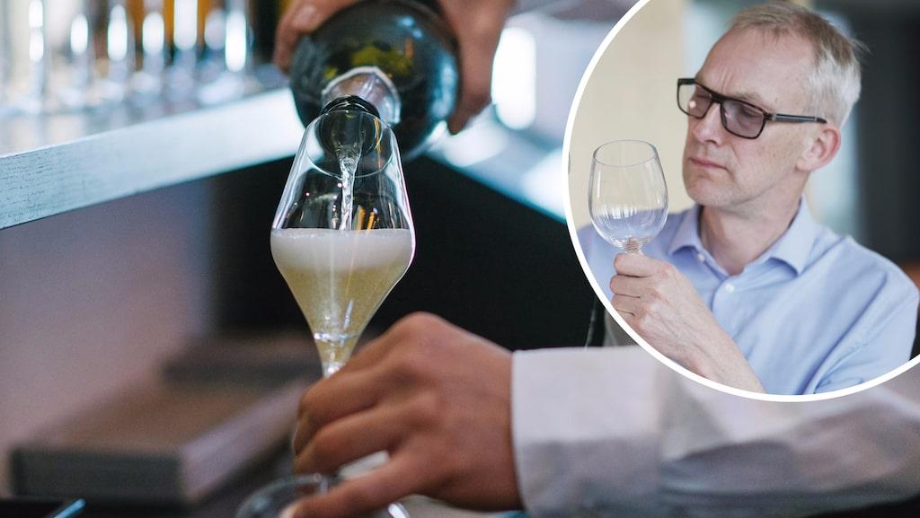 """""""Jag har ett universalråd att bjuda på: Håll dig till samma typ av vinglas som till allt annat vin""""...."""