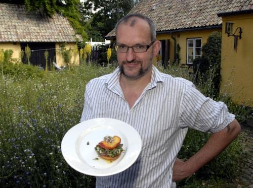 Krögaren David Kallós lagade toast på mördarsniglar.