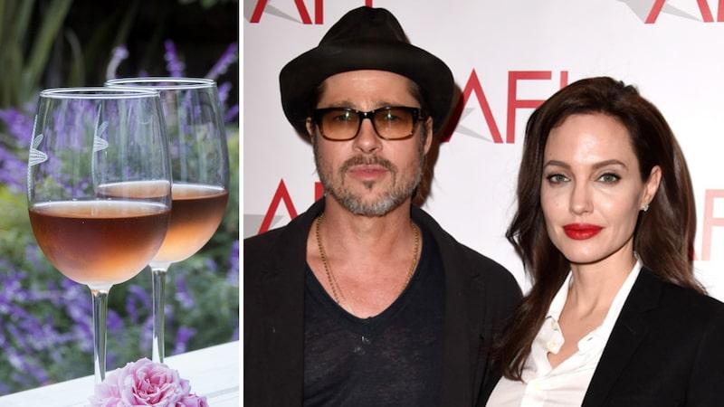Brad Pitt och Jolie satsar på gemensamt vin igen. Nyligen lanserade ett rosévin från gården i Provence.