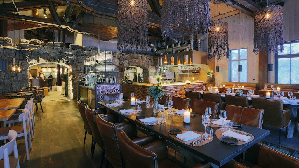 Restaurangen på Niehku.