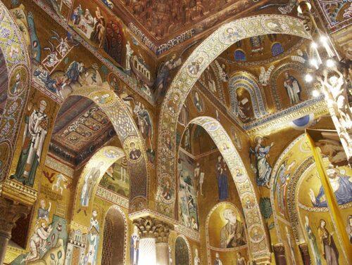 Otroliga mosaikerna från 1200-talet i kyrkan La Martorana