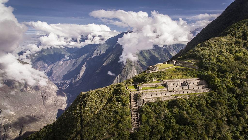 För att få uppleva Choquequirao krävs en 42 kilometer tuff vandring.