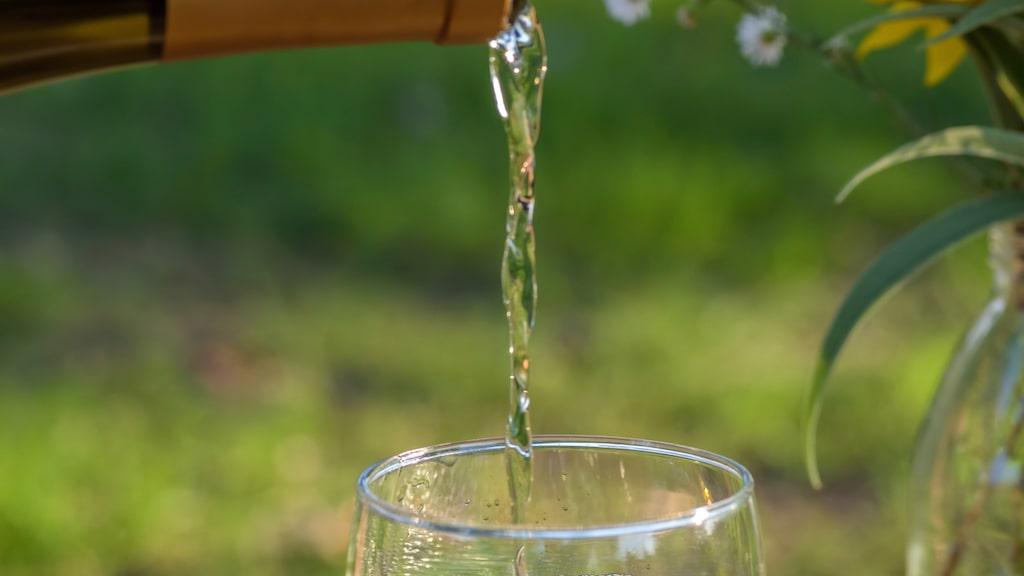 Ett elegant halvtorrt vitt vin blir olidligt när det bjuds ljummet, skriver Håkan Larsson.