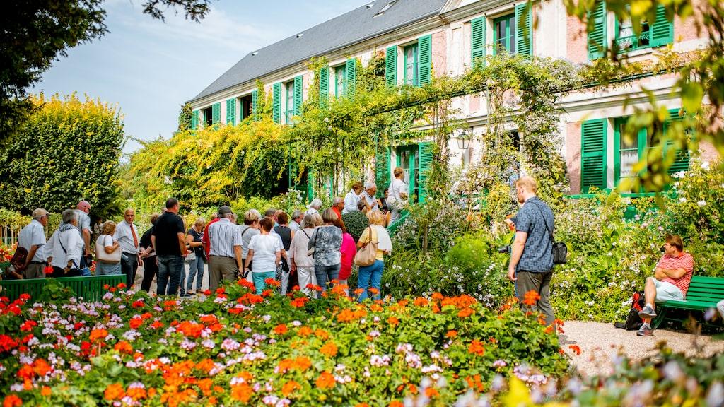 I Giverny kan du besöka Monets gamla hem och trädgård.