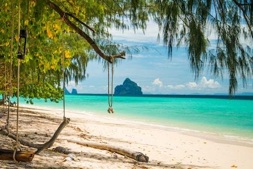 Koh Kradan, en av Thailands underbara öar.