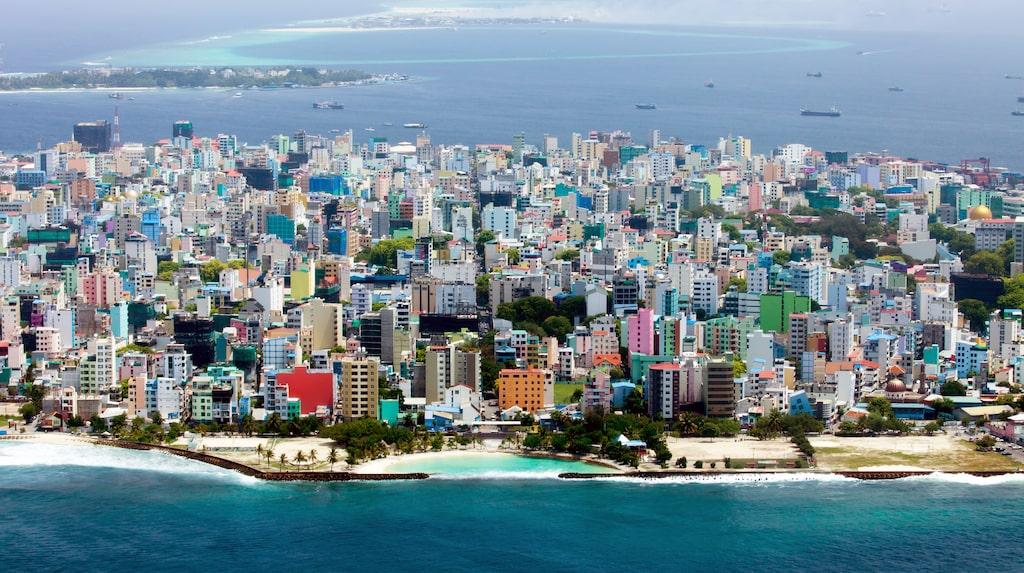 Missa inte Malé, Maldivernas huvudstad.