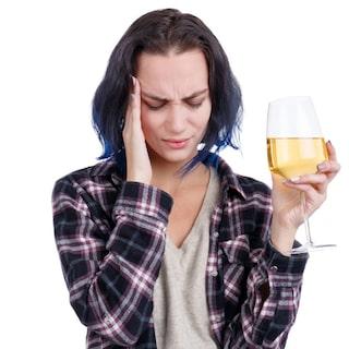 Allergisk mot rödvin
