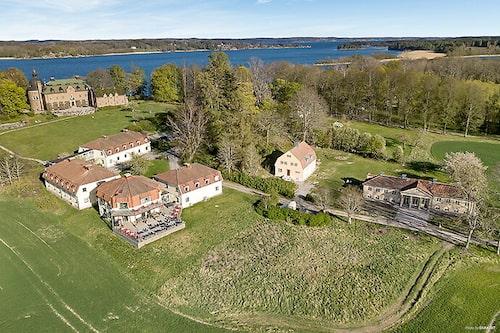 Engsholms slotts trädgårdsmästare bodde i villan under 1900-talet.