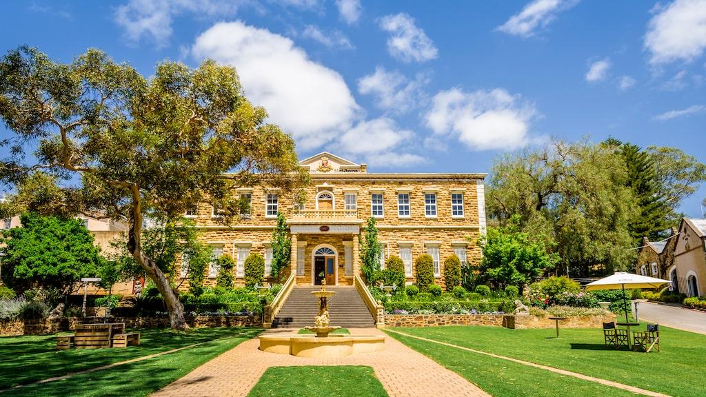 Barossa Valley i Australien är känt för att producera utmärkt shiraz och riesling.
