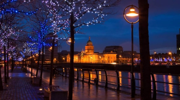 Dublins nyårsfestade pågår i flera dagar.