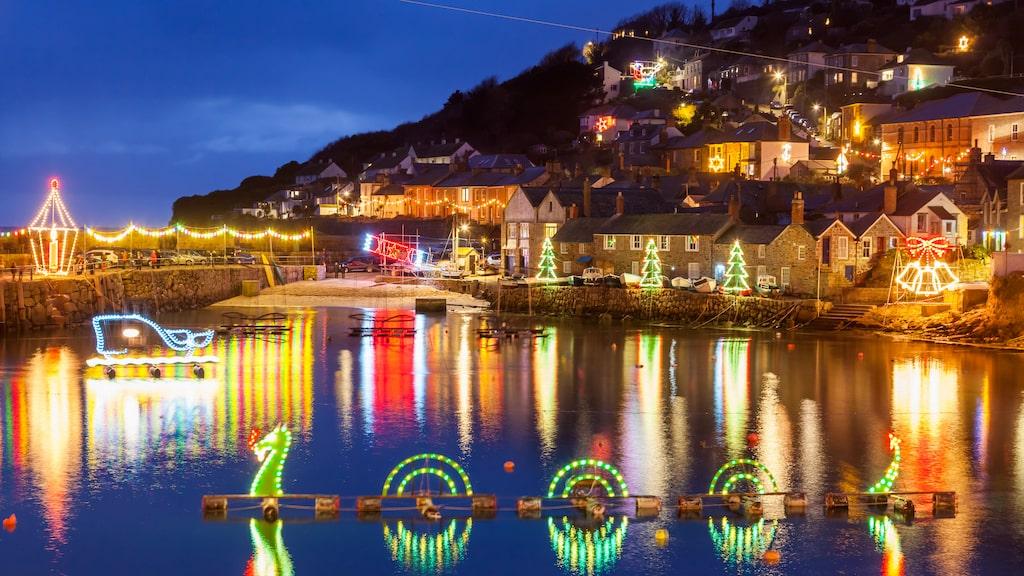 Cornwall, en upplevelse kring jul.
