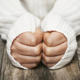 skrynkliga fingertoppar symptom
