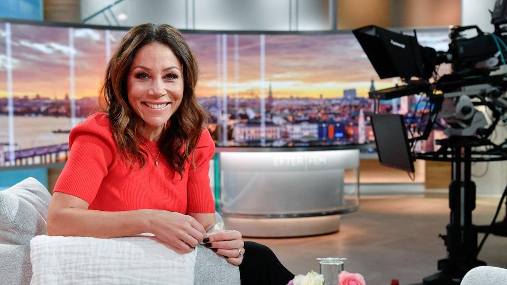 """Tilde de Paula Eby leder """"Efter fem"""" i TV4 klockan 17–19 tre dagar i veckan."""