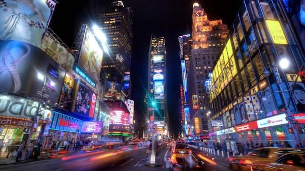 Times Square i New York.