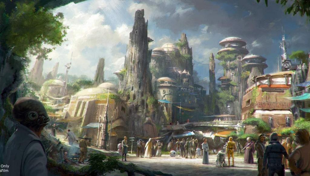 """<p>En """"autentisk"""" atmosfär utlovas med utomjordingar och robotar från """"Star wars""""</p>"""