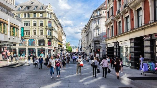 Oslo är en av Europas snabbast växande städer.