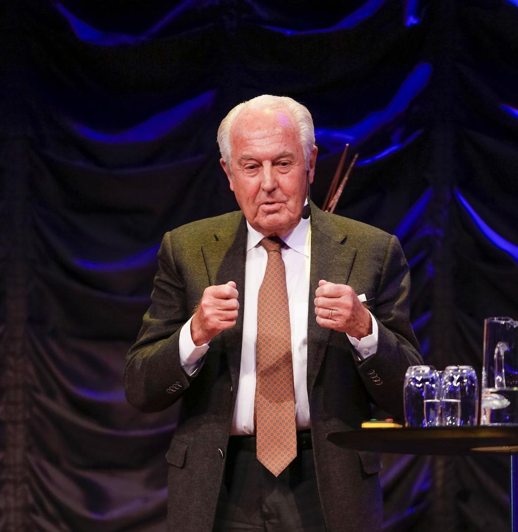 Jan Carlzon, 76, är legendarisk som framgångsrik chef för SAS.