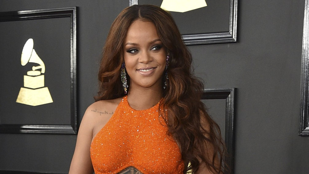 Rihanna på Grammy-galan 2017.
