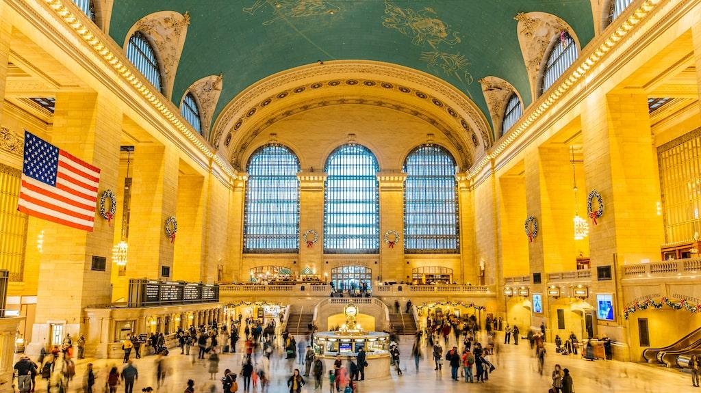 Med vackra platser som Grand Central...