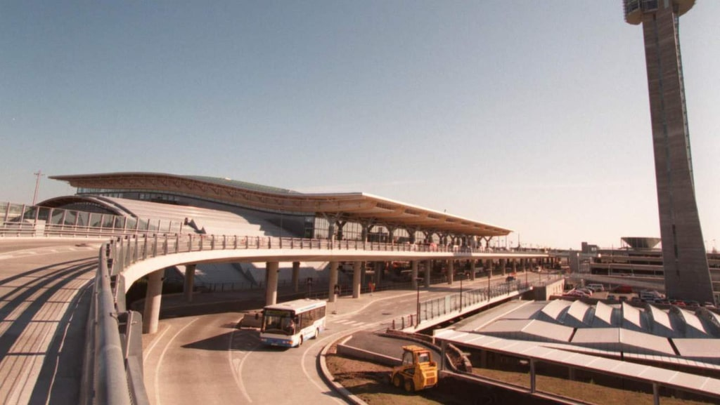 Osloflygplatsen Gardermoen.