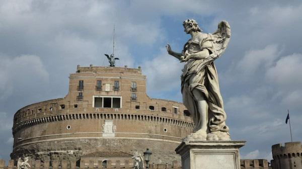 """Castel Sant'Angelo syns i """"Änglar och demoner"""""""