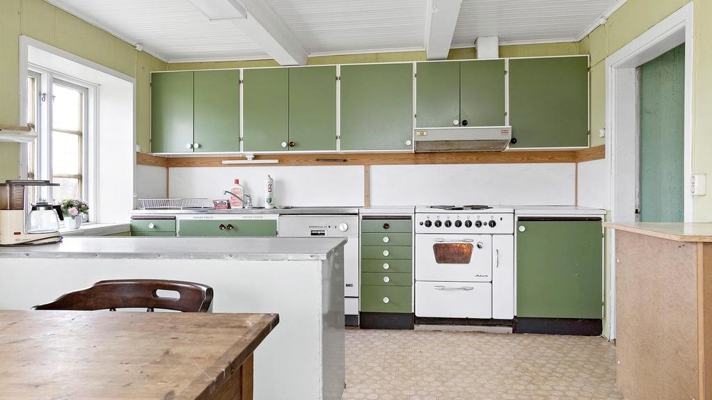 Köket behöver en rejäl renovering...
