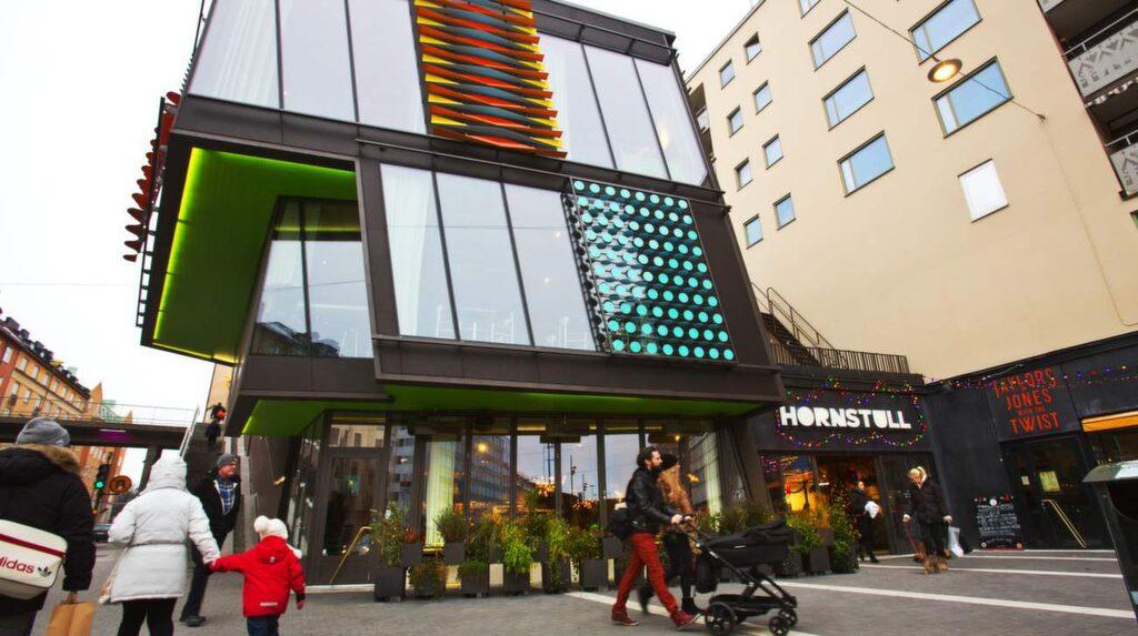 """<p>Hornstull – en ny, trendig galleria på """"Knivsöder"""".</p>"""