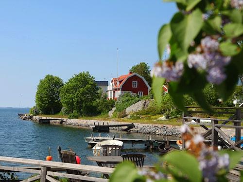 Astrid Lindgrens hus i Furusund.
