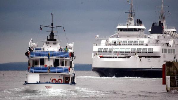 Båtarna mellan Helsingborg och Helsingör är mysiga att åka med.
