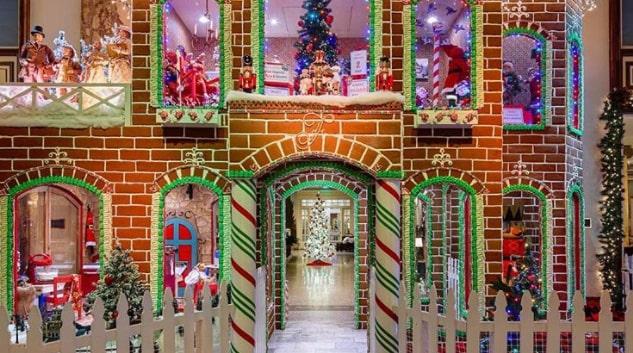 Hotellet i San Francisco hårdsatsar på julen