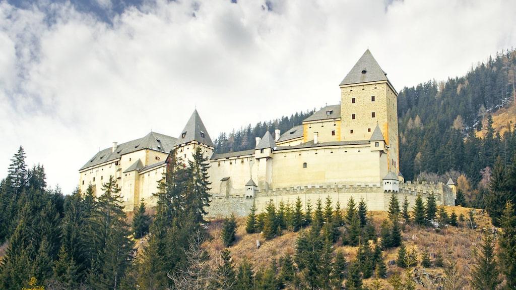 Schloss Moosham i Österrike