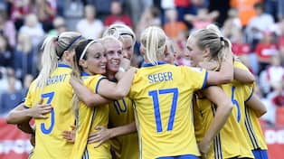 Sverige är klart för VM i Frankrike nästa sommar. Foto  JONAS EKSTRÖMER TT    TT NYHETSBYRÅN 8d338625cf438