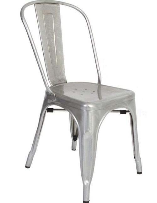 Drömstol. Till köket drömmer Annaleena om stolar från Tolix, 1 950 kronor, broarne.se