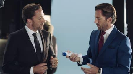 Henrik Lundqvist I Ny Reklamfilm Med Tvillingbrorsan Joel