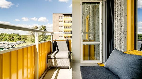 Paradise hotel-Andreas lägenhet i Orminge.