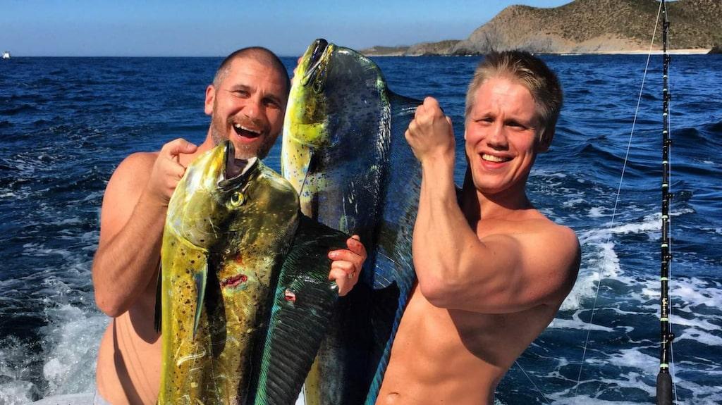 """Marko """"Markoolio"""" Lehtosalo är nyss hemkommen från sitt lis största fiskeäventyr hittills – i Mexiko."""