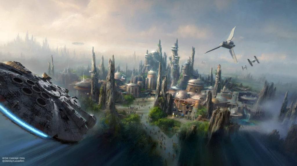 """<p>Disneys vd Bob Iger avslöjade i helgen att """"Star wars"""" kommer till Disneyland.</p>"""