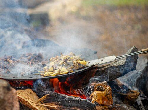 Outdoor cooking är en växande trend.